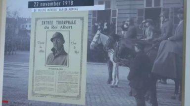 Bruxelles : le musée BELvue revient sur la fin de la 1re Guerre Mondiale dans la capitale belge