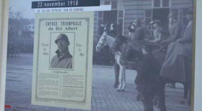 Roi Albert - Exposition Première Guerre Mondiale - Musée BELvue