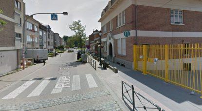 Rue de l'Église - Berchem-Sainte-Agathe - Google Street View