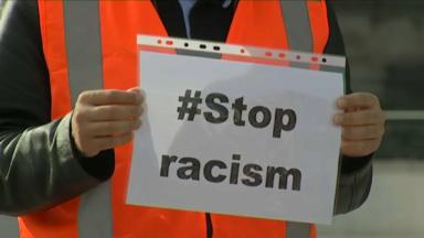 Deux cents personnes protestent à Bruxelles contre la haine et le racisme