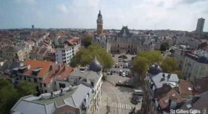 Saint-Gilles - Hôtel de Ville - Drone Commune