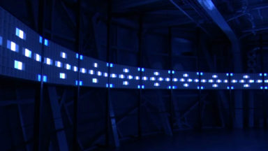 A Circular Journey : une installation du collectif Visual System à l'Atomium