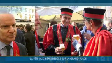 Quelque 60.000 personnes au 20e Weekend de la bière sur la Grand-Place