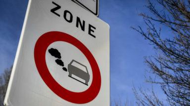 Zone de basses émissions : 19.000 nouveaux véhicules concernés à Bruxelles
