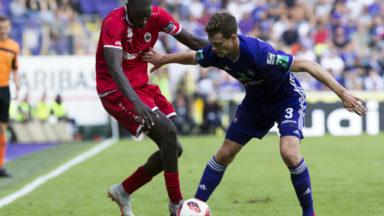 Football : Anderlecht surpris par l'Antwerp (1-1) dans les arrêts de jeu