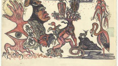 """La VUB rénove son """"Cigare"""" et dévoile les peintures murales de l'architecte Renaat Braem"""