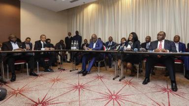 Les leaders de l'opposition congolaise se sont rencontrés ce mercredi à Bruxelles