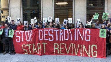 Les manifestations pour la forêt de Hambach en Allemagne s'étendent jusqu'à Bruxelles