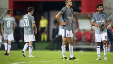 Défaite d'entrée pour Anderlecht en Europa League