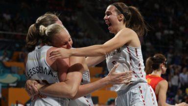 Basket: l'exploit des Belgian Cats, en quarts de finale de leur premier Mondial