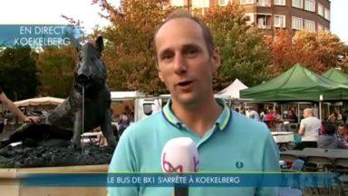 Notre bus s'arrête à Koelkelberg à la rencontre des citoyens et de la célèbre boulangerie-patisserie Sirre