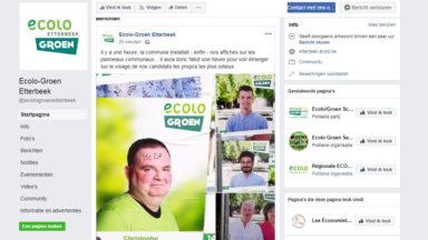Communales 2018: des affiches Ecolo-Groen dégradées à Etterbeek