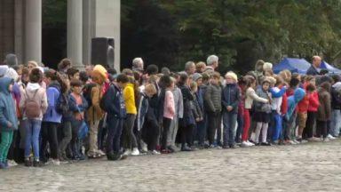 350 enfants présents lors des commémorations du centenaire de la Grande Guerre