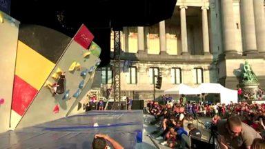 Escalade : Bruxelles organise le premier championnat d'Europe jeune