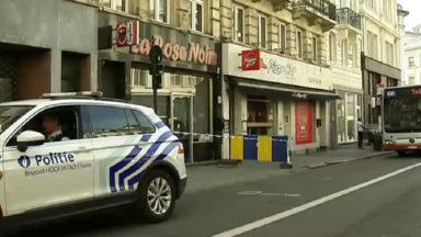 Des coups de feu ont fait deux blessés dimanche matin à Bruxelles