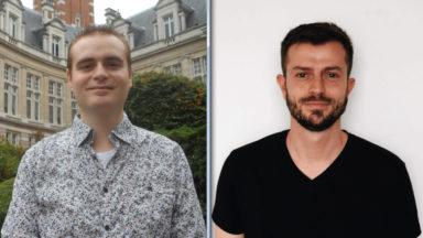 Face à face électoral entre Giuseppe Baudewyns (tête de Liste B.U.B) à Saint-Gilles et Quentin Parete (Liste Plan B) à Bruxelles