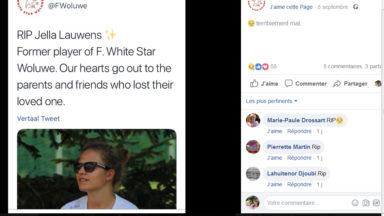 Une jeune joueuse pro de football décède dans un accident de voiture