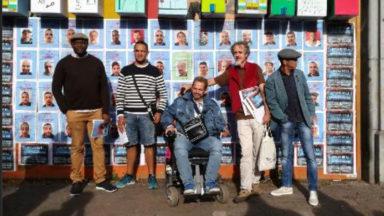 Saint-Gilles : manifestation de sans-abri pour des politiques durables d'accès au logement