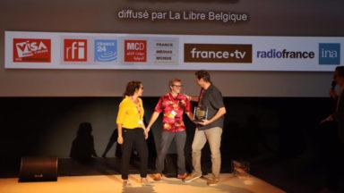 Une journaliste et un photographe belges lauréats du Visa d'or de l'Information numérique