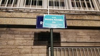 Des rues de Bruxelles rebaptisées au nom de Semira Adamu