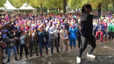 Une journée de détente pour plus de 1000 stagiaires de Bruxelles-Formation