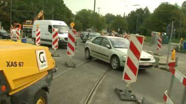 Les travaux de boulevard de la Woluwe bientôt finis, mais les riverains connaissent encore des difficultés pour passer