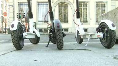 Mobilité : Trottinettes et vélos en libre service bientôt soumis à une licence d'exploitation en région bruxelloise