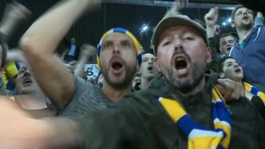 Coupe de Belgique: les supporters de l'Union exultent après leur victoire contre Anderlecht (0-3)