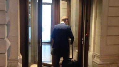Les entrées du palais de justice sont à nouveau ouvertes