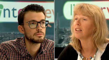 Anderlecht - Giovanni Bordonaro - Anne Mertens - Interview BX1