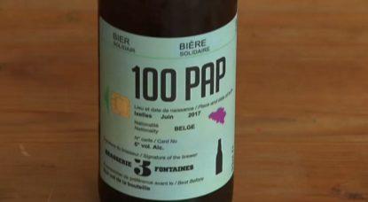 Bière 100 Pap - Sans-Papiers Brasserie 3 FontainesBière 100 Pap - Sans-Papiers Brasserie 3 Fontaines