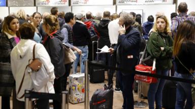 Brussels Airport recommande de n'emmener que des bagages à main ce vendredi