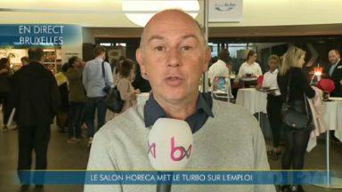 Près de 30 employeurs présents au salon de l'Horeca ce vendredi à Brussels Expo