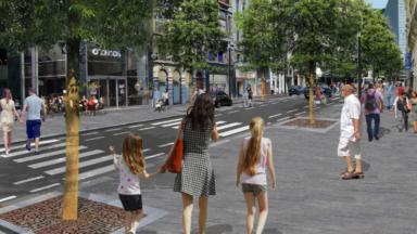 Réaménagement du boulevard Adolphe Max : les commerçants partagés