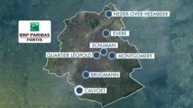 62 agences de BNP Paribas Fortis, dont 7 bruxelloises, vont fermer leurs portes en 2019