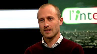 Christophe De Beukelaer (cdH) est l'invité de l'Interview