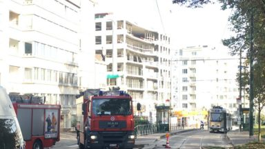 Avenue de Tervueren : le bâtiment du Chien Vert, qui menaçait de s'effondrer, a été détruit