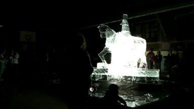 La contestation a eu lieu samedi soir lors de la Nuit Blanche dans le quartier des Marolles