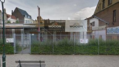 Anderlecht: manifestation devant l'école des Petits Goujons après la noyade d'un enfant