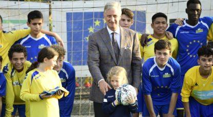 Roi Philippe - Kraainem FC - Belga Laurie Dieffembacq