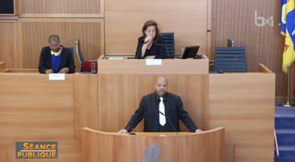 Séance Publique - Parlement francophone bruxellois 16102018
