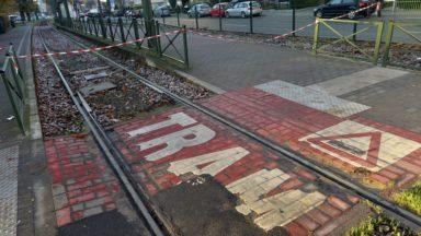 Stib : les accidents de tram en baisse de près de 7% en 2017