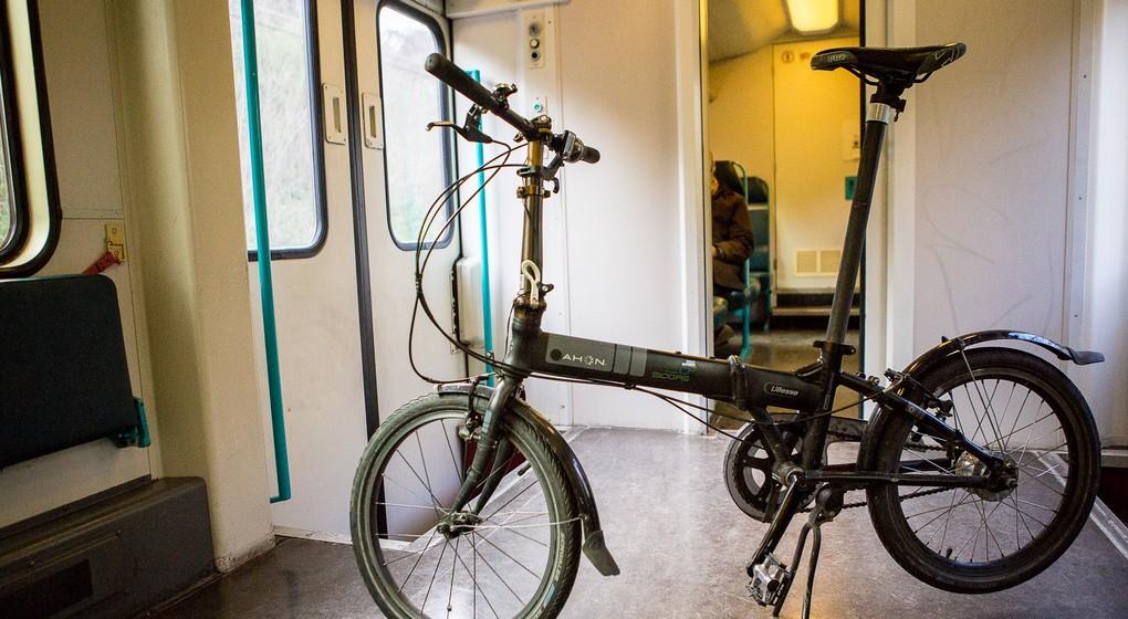 Vélo dans un train SNCB - Belga Siska Gremmelprez