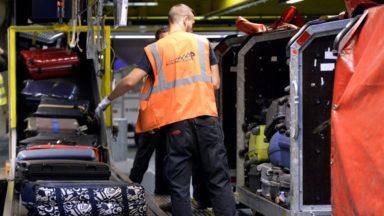 Brussels Airport : les bagagistes à nouveau dans le rouge