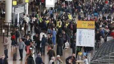 Brussels Airport : aucune action du personnel de sécurité durant les vacances de Pâques