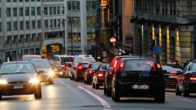 Mobilité : le nombre de véhicules augmente bien moins à Bruxelles qu'en Flandre