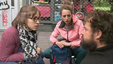 Les infirmiers de rue sillonnent Bruxelles pour rencontrer les sans-abri