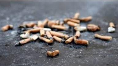 30% des déchets bruxellois sont des mégots