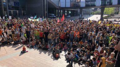 Les citoyens se rassemblent à Bruxelles pour sauver l'Aquarius