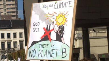 Manifestation pour le climat: ils veulent une lutte efficace contre le réchauffement climatique